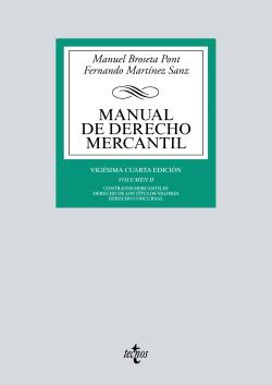 (2017).II.MANUAL DE DERECHO MERCANTIL