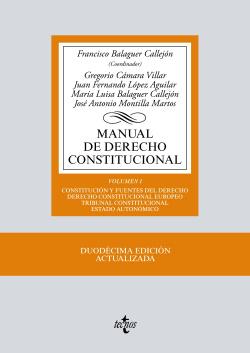 (2017).I.MANUAL DE DERECHO CONSTITUCIONAL.(12ª EDICION)