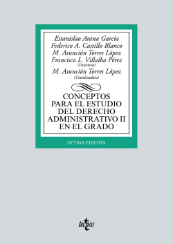 Conceptos para el estudio del Derecho administrativo II en el grado