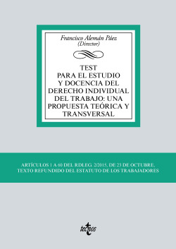 Test para el estudio y docencia del derecho individual del trabajo: una propuesta teórica y transversal