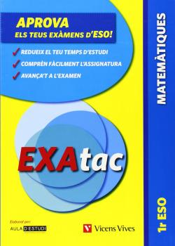 Exatac 1 Matematiques. Exercicis Per Aprovar Els