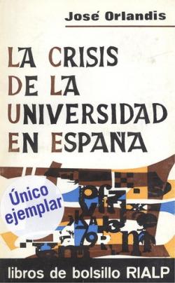 La crisis de la universidad en España