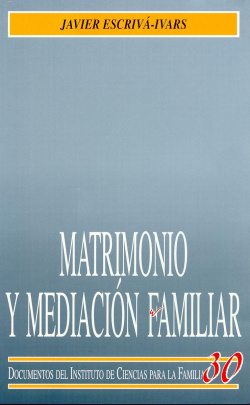 Matrimonio y mediación familiar