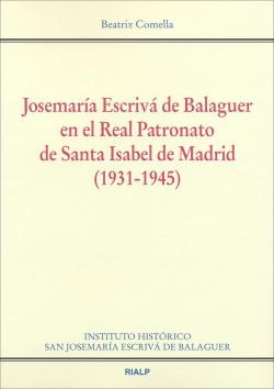 Josemaría Escrivá de Balaguer en el Real Patronato de Santa Isabel de Madrid