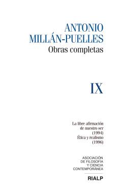 Millán-Puelles. IX. Obras completas