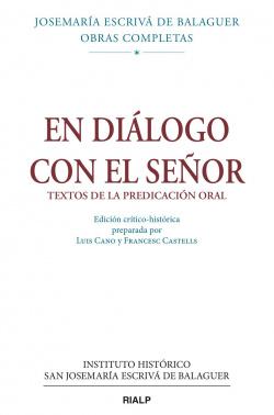 V/1.EN DIALOGO CON EL SEÑOR
