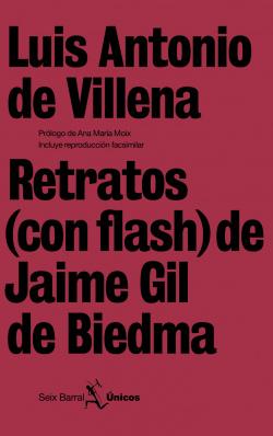 Retratos (con flash) de Jaime Gil de Biedma