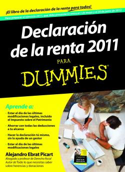 Declaración de la renta 2011 para Dummies