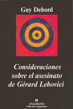 Consideraciones sobre el asesinato de Gérard Lebovici