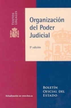 Organización el poder judicial (5ªed)
