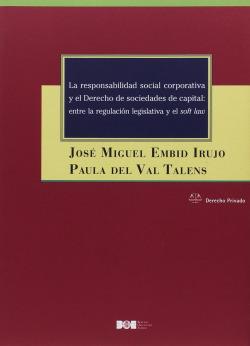 RESPONSABILIDAD SOCIAL CORPORATIVA Y EL DERECHO DE SOCIEDADES DE CAPITAL