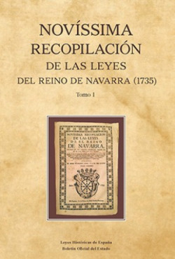 Novísima recopilaciónde la leyes del reino de Navarra