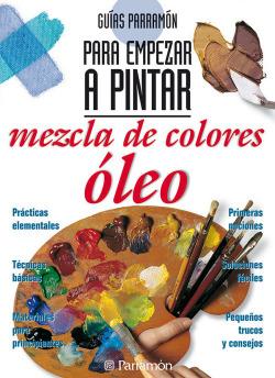 Mezcla de colores óleo