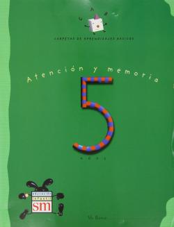 C.A.B.-5 ANOS/ATENCION,MEMORIA/CARPETA DE APRENDIZS.MPRE