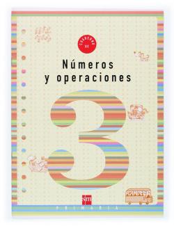 ANT/(03).NUMEROS OPERACIONES 3 (1º.PRIMARIA).CUADERNO