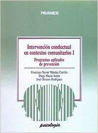 INTERVENCION CONDUCTUAL CONTEXTOS COMUNITARIOS I PROGRAMAS
