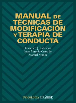MANUAL TECNICAS MODIFICACION Y TERAPIA CONDUCTA