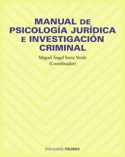 MANUAL DE PSICOLOGIA JURIDICA E INVESTIGACION CRIMINAL