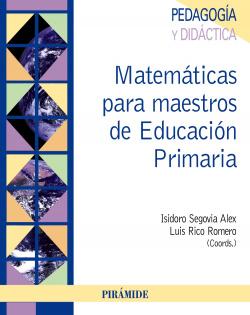 MATEMATICAS PARA MAESTROS EDUCACION PRIMARIA.(PSICOLOGIA)