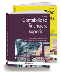 Pack contabilidad financiera superior 2 volúmenes