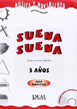SUENA SUENA 3.(GUIA DEL PROFESOR).(3 AÑOS)