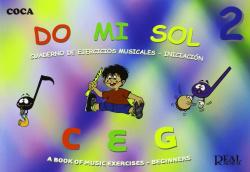 DO MI SOL 2:CUADERNO EJERCICIOS MUSICALES