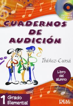 CUADERNOS DE AUDICION.(GRADO 1 ELEMENTAL).(LIBRO ALUMNO)
