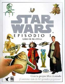Star Wars. Episodio I: libro de pegatinas