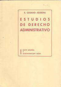 I.estudios derecho administrativo