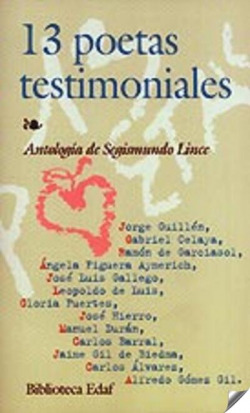 13 poetas testimoniales