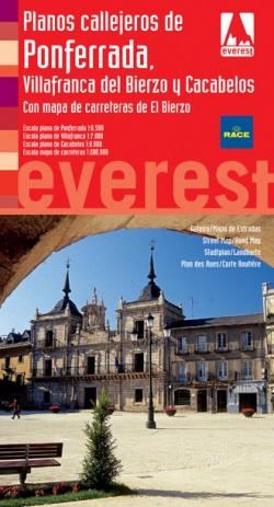 Planos callejeros de Ponferrada, Villafranca del Bierzo y Cacabelos