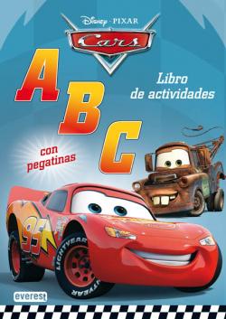 Cars. ABC. Libro de actividades con pegatinas
