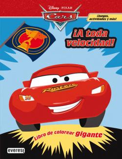 Cars. íA toda velocidad! Libro de colorear gigante