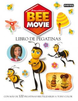 Bee movie. libro de pegatinas reutilizables