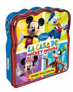 La casa de Mickey mouse. Juega, lee y colorea