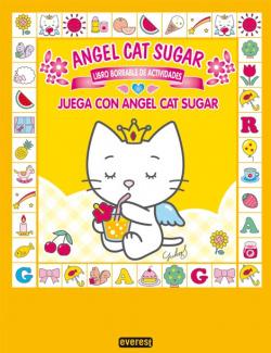 Juega con Angel Cat Sugar. Libro borrable de actividades