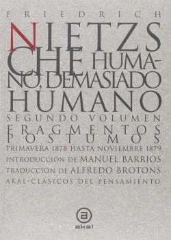 Humano, demasiado humano 2 volumenes