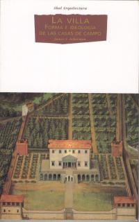 Villa, la: forma e ideología casas de campo