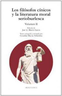 Filósofos cínicos y la literatura moral serioburlesca II