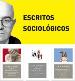 ADORNO LOTE ESTUDIOS SOCIOLÓGICOS. OBRA COMPLETA