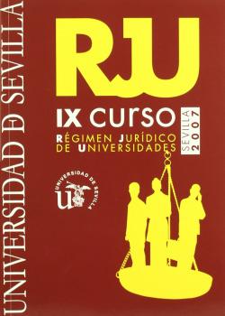 IX CURSO DE REGIMEN JURIDICO DE UNIVERSIDADES