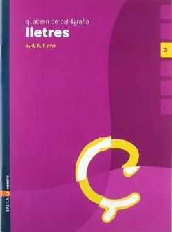 (CAT).(05).3.QUAD.CAL·LIGRAFIA LLETRES (4ANYS)/(S-D-F-H-R)