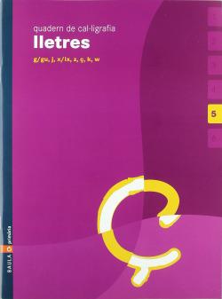 (CAT).(05).5.QUAD.CAL·LIGRAFIA LLETRES (5 ANYS)