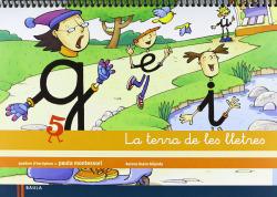 (CAT).(13).QUADERN 5.(TERRA DE LLETRES) ESCRIPTURA 5 ANYS