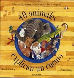 40 animales explican un cuento