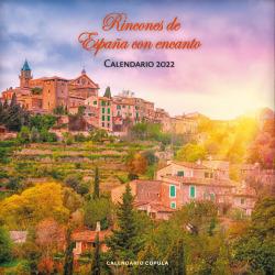 Calendario Rincones de España con encanto 2022