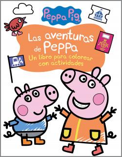 Las aventuras de Peppa (Actividades para colorear)