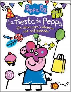 La fiesta de Peppa (Actividades para colorear)