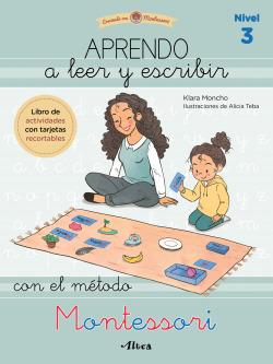 Aprendo a leer y escribir con el método Montessori (nivel 3)