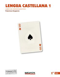 Lengua castellana 1º ESO. Libro de conocimientos (ed. 2015)